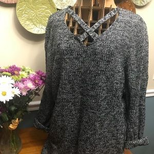 Lightly loved Lane Bryant sweater tunic